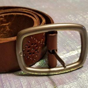 Aeropostale leather belt M